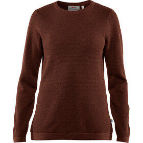 Fjällräven High Coast Merino Sweater Women marron